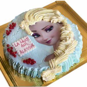 Tort Elsa Frozen